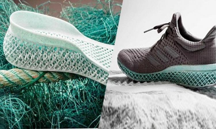 بالصور .. أول حذاء ذكى من نفايات المحيطات !!