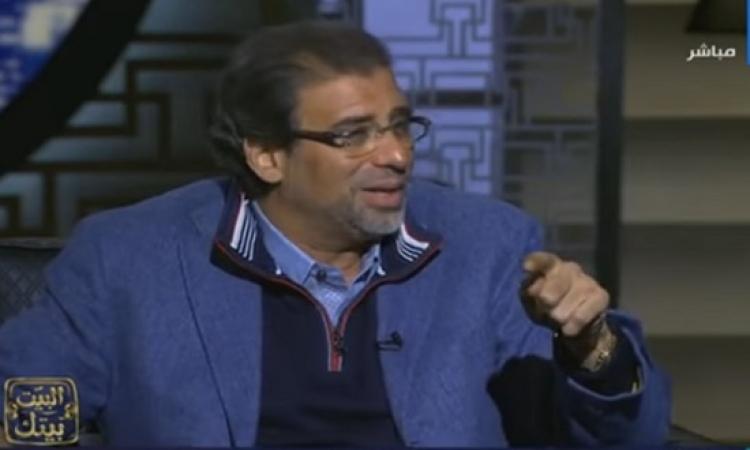 بالفيديو .. خالد يوسف : مظاهرات 25 يناير المقبل ليست فى صالح مصر