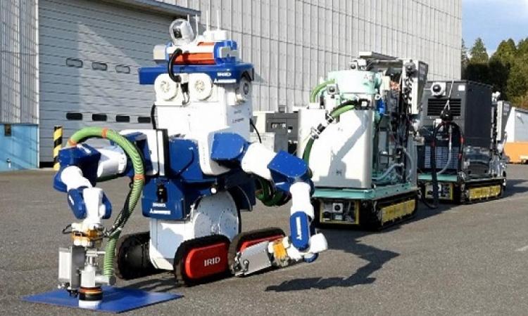ابتكار روبوت يابانى لإزالة المخلفات النووية