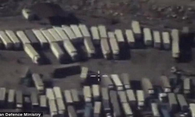 روسيا تنشر فيديوهات تورط أردوغان فى الحصول على النفط من داعش