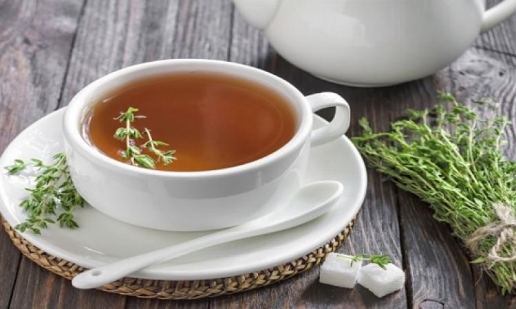 شاى الزعتر يساعد على علاج عسر الهضم والسعال