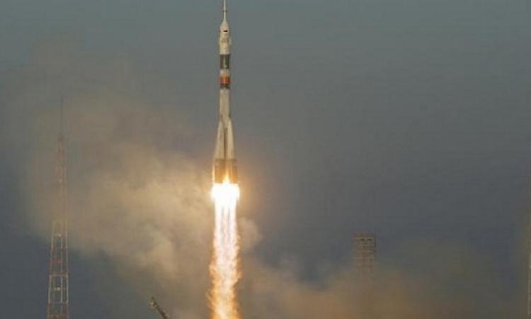 انطلاق صاروخ سويوز روسى إلى المحطة الدولية