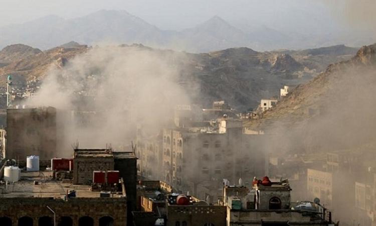 ميليشيات الحوثى تنتهك وقف إطلاق النار فى اليمن