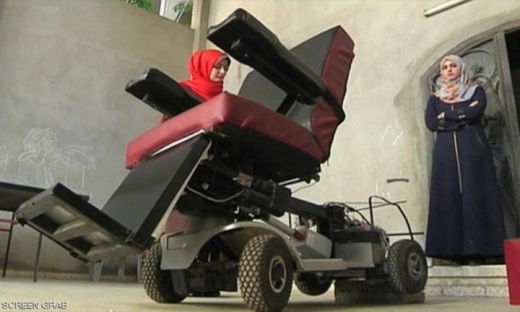 ابتكار فلسطينى : كرسى للمعاقين يتحرك بأوامر صوتية