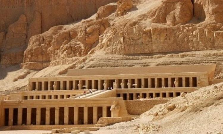 تعامد الشمس على مقصورة آمون فى معبد حتشبسوت