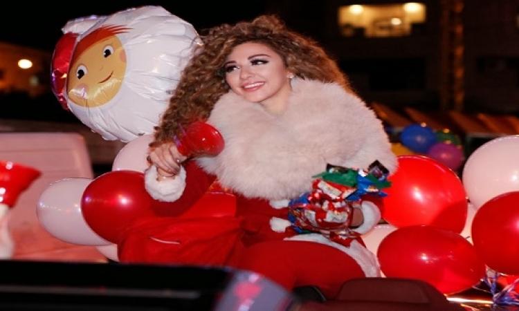 بالصور .. نجمات العرب يحتفلن برأس السنة