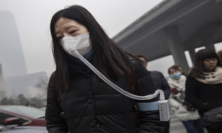الصين تشترى الهواء النقى بزجاجات .. الواحدة بـ 20 دولار
