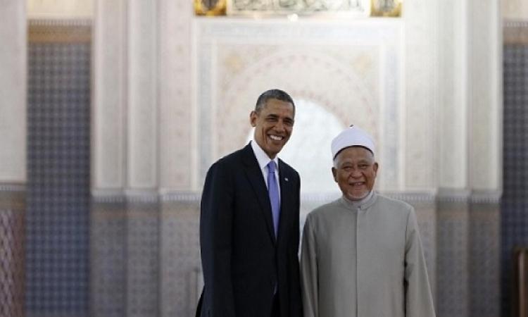أوباما يعتزم زيارة مسجد فى الولايات المتحدة للمرة الأولى