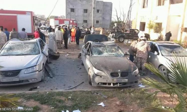 عشرات القتلى والمصابين فى انفجار بمعسكر زليتن بليبيا