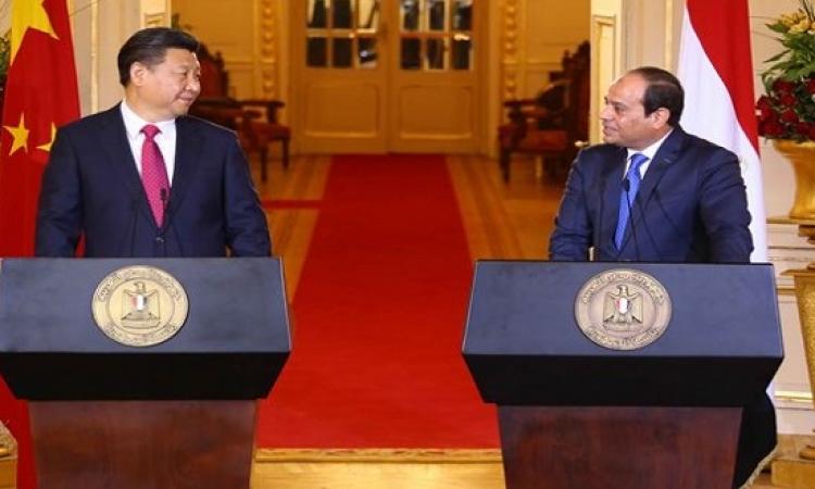 نص كلمة الرئيس السيسى فى المؤتمر المشترك مع نظيره الصينى