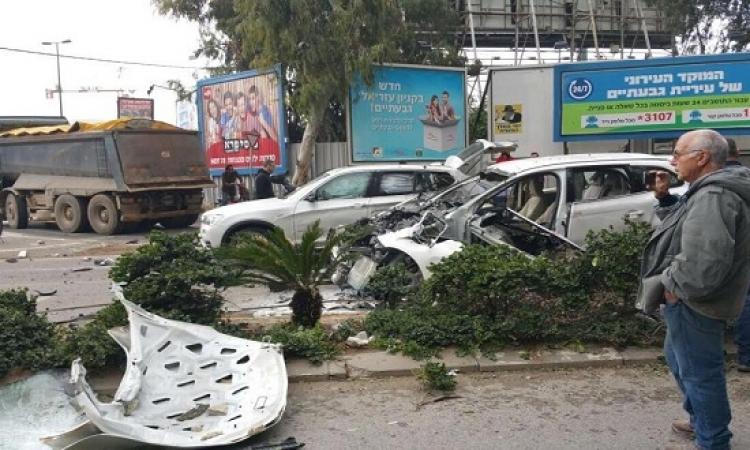 إصابة 3 إسرائيليين جراء انفجار سيارة مفخخة بتل أبيب