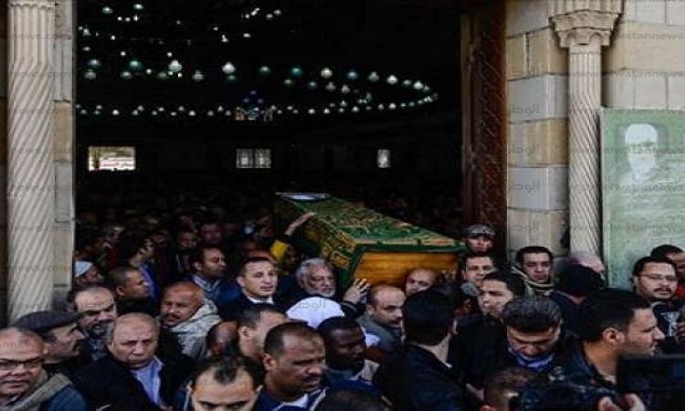 بالفيديو .. تشييع جنازة حمدى أحمد من مسجد الحصرى بمدينة 6 أكتوبر