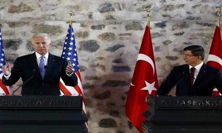 بايدن : مستعدون لحل عسكرى فى سوريا إذا فشل الحل السياسى