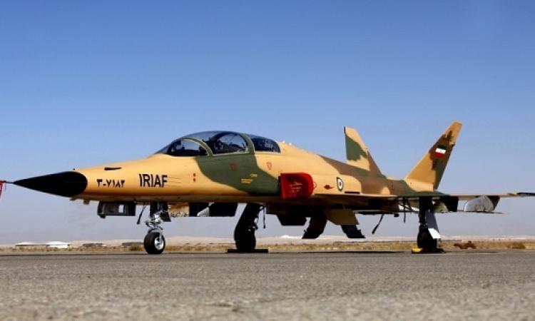 تحطم طائرة مقاتلة إيرانية ومصرع طياريها