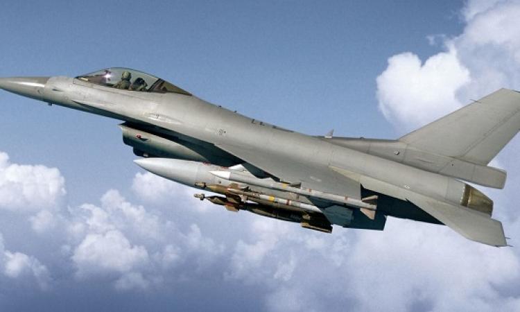 بالفيديو .. سقوط طائرة F- 16 اثناء طلعة تدريبية واستشهاد طياريها