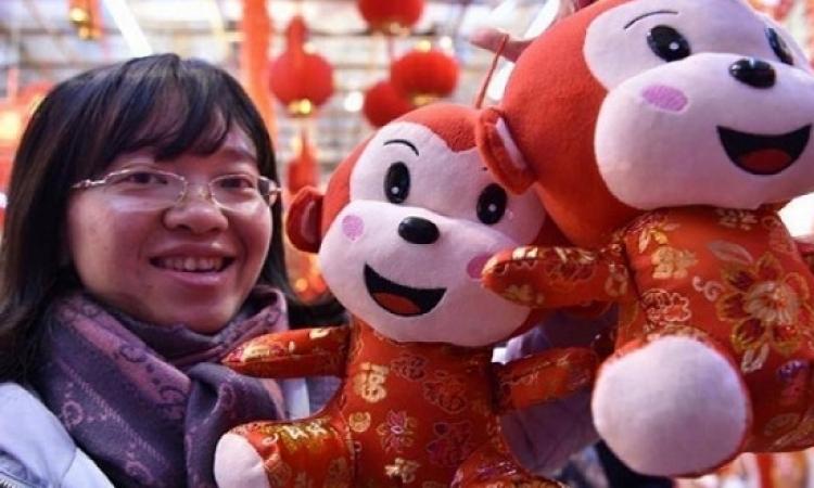 """الصين تحتفل بتقويم السنة القمرية الجديدة """"عام القرد"""""""