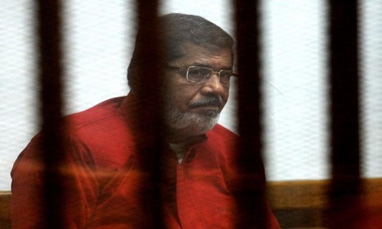 نيابة النقض توصى بتأييد سجن مرسى 40 سنة فى التخابر مع قطر