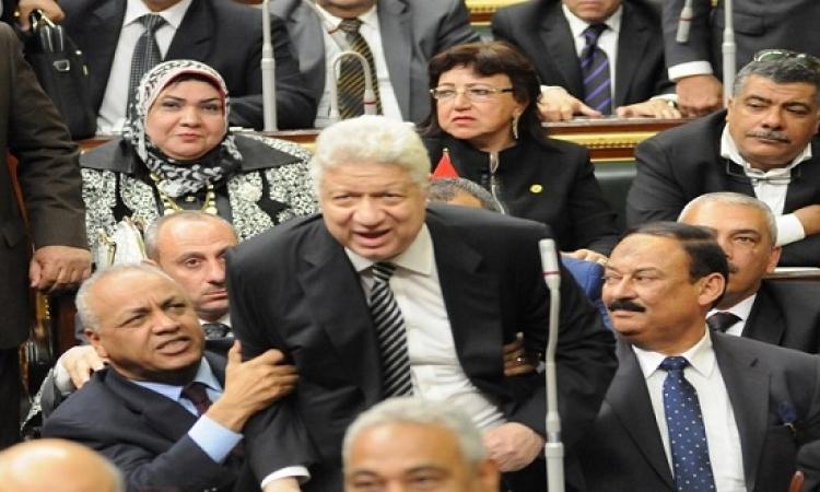 خناقة مرتضى بأولى جلسات البرلمان : شغل المخبرين انتهى!!