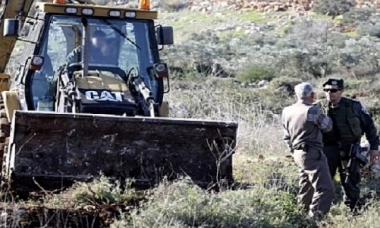 إسرائيل تعتزم مصادرة مساحة كبيرة من الأراضى الزراعية بالضفة الغربية