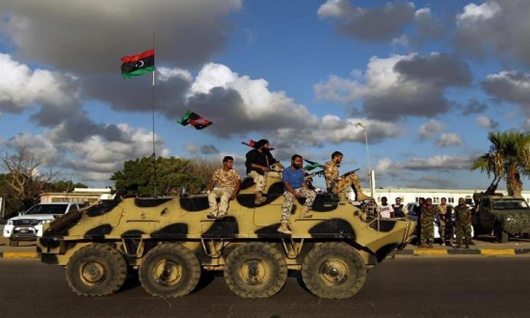 الجيش الليبى يعلن هدنة إنسانية من أجل عيد الفطر