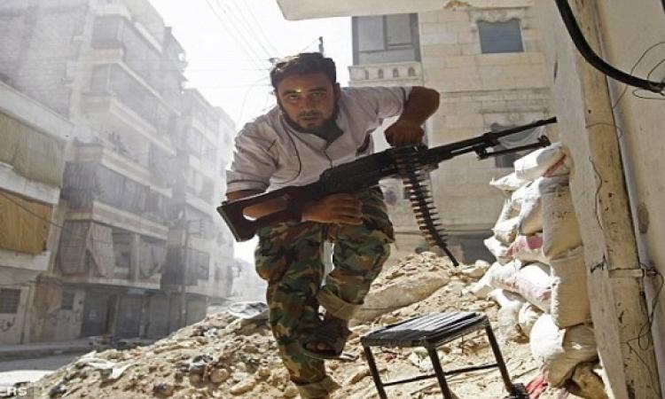 الجيش السورى يشن هجوما على المعارضة جنوبى حلب