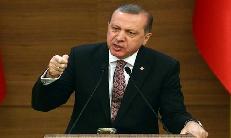 أردوغان يؤكد تصميمه على المشاركة فى معركة تحرير الموصل