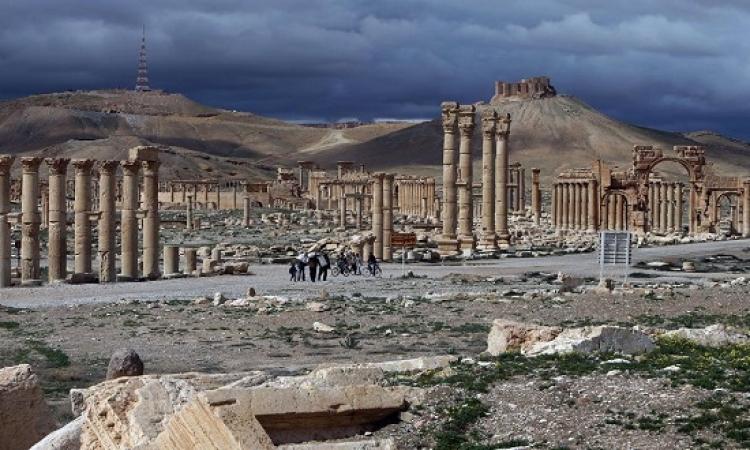 الجيش السورى يستعيد مدينة تدمر بالكامل من داعش