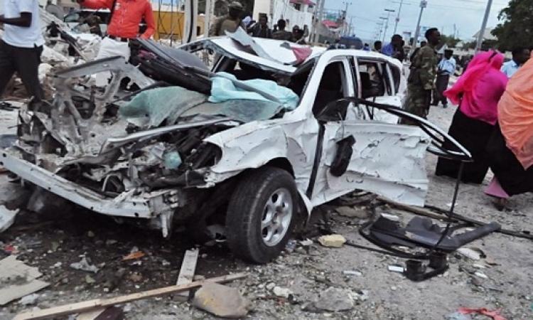 عشرات القتلى بانفجار قنبلة قرب العاصمة الصومالية