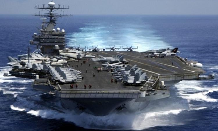 حاملة طائرات أمريكية تصل إلى كوريا الجنوبية