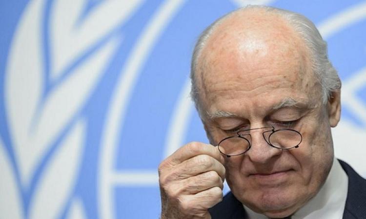 دى ميستورا يقترح بقاء الأسد بصلاحيات محدودة