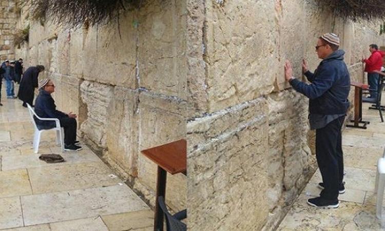 بالصور .. فان دام فى القدس بالطاقية .. شالوم من إسرائيل !!