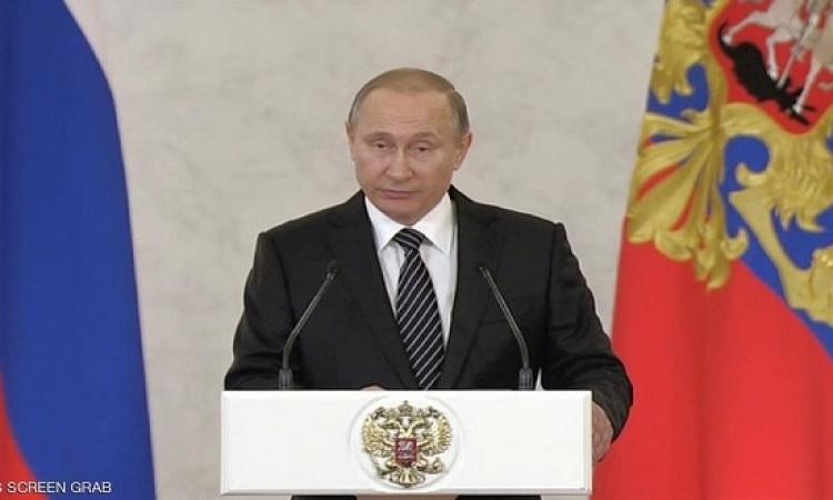 بوتين يتعهد بمواصلة الدعم العسكرى الروسى للأسد