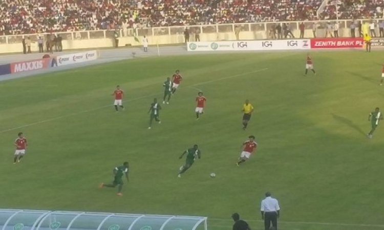 تعادل بطعم الفوز للفراعنة أمام نيجيريا بهدف صلاح