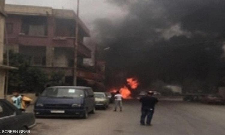مقتل زورو حركة فتح فى انفجار بمدينة صيدا اللبنانية