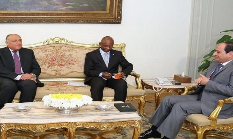 رسالة من رئيس بورندى للسيسى يسلمها وزير خارجيته