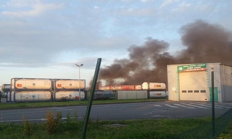 بالصور .. 5 انفجارات بمصنع مواد خطرة فى بوردو بفرنسا