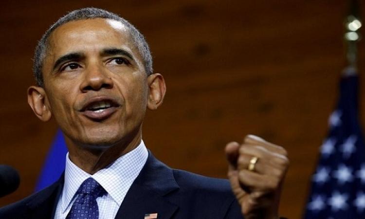 اوباما يبلغ الكونجرس تمديد العقوبات على الحكومة السورية
