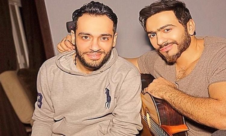 """تامر حسنى ورامى جمال يقدما أغنية مشتركة بـ""""شم النسيم"""""""