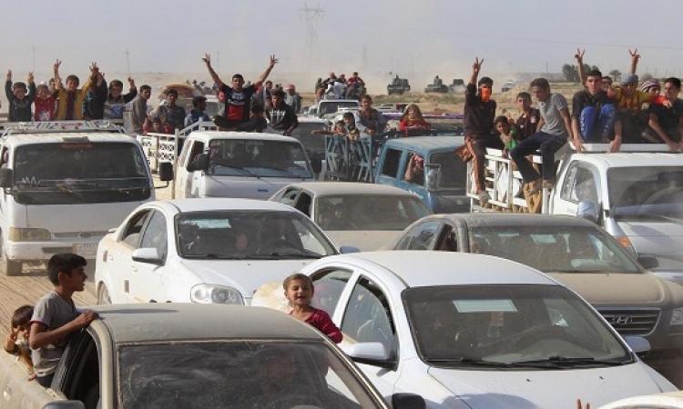 عودة مئات العائلات العراقية للرمادى بعد تحريرها من داعش