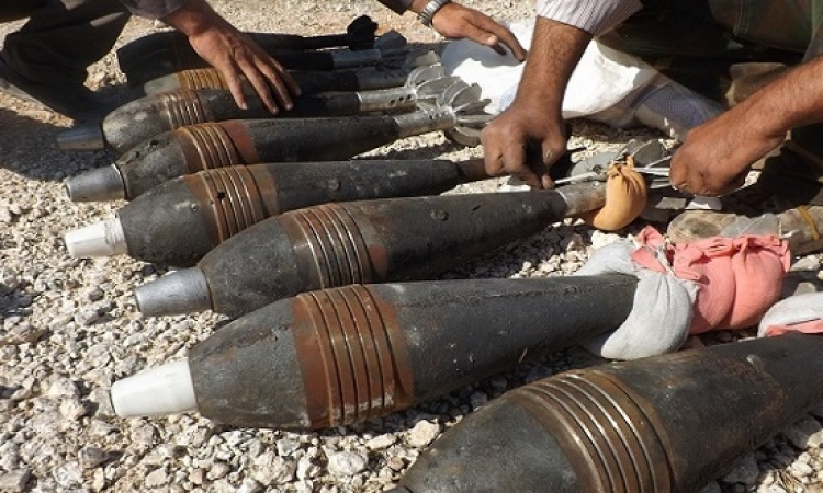 داعش يستهدف موقعا للجيش السورى بغاز الخردل