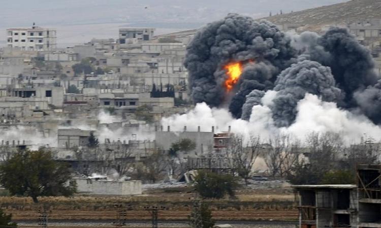 تصاعد المواجهات بسوريا والطيران السورى يقصف ريف حمص