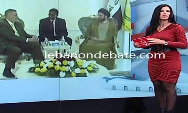 بالفيديو .. مذيعة لبنانية شهيرة تفقد الوعى على الهواء مباشرة !!