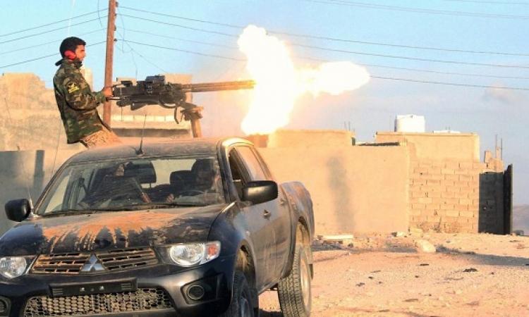 اشتباكات عنيفة بين الجيش الليبي وبقايا الإرهابيين بالمدينة القديمة في درنة