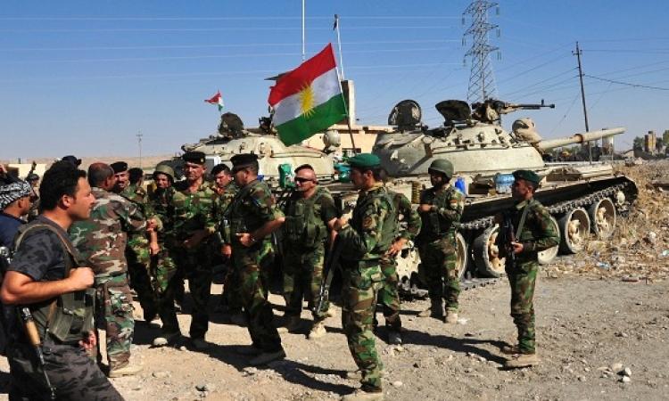 داعش يقصف القوات الكردية بالكيماوى ويصيب 14