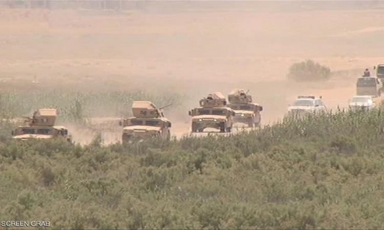 عملية انتشار للقوات العراقية بين ديالى وصالح الدين لمنع تسلل عناصر داعش