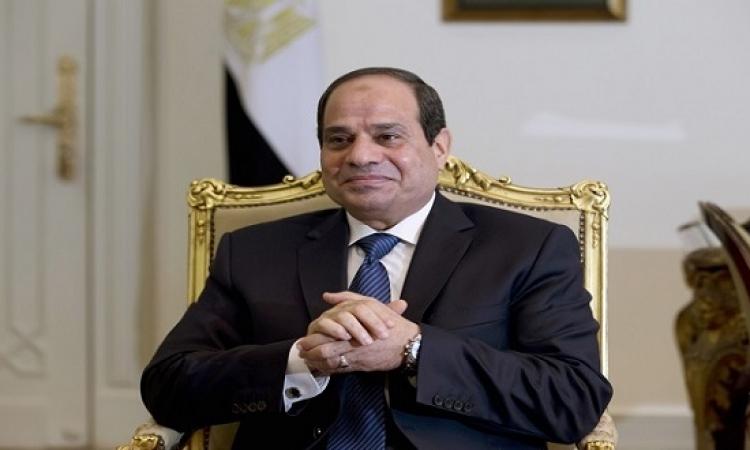 السيسى : مصر قادرة على مواجهة التحديات بمسلميها ومسيحيها