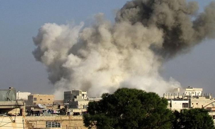 الطيران السورى يواصل قصف موقع المعارضة فى حلب