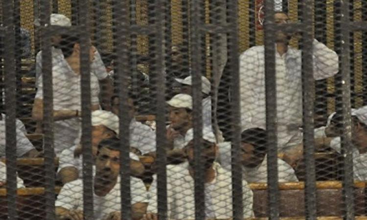 المؤبد لـ 122 إخوانيًا بالمنيا باقتحام قسم أبو قرقاص