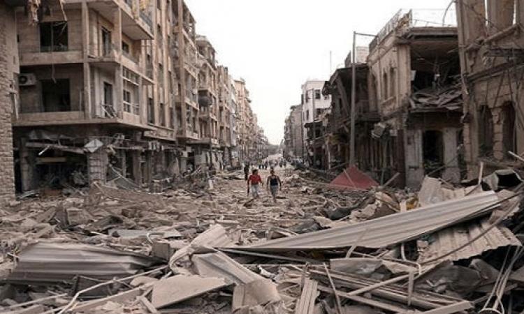 التهدئة تسرى فى حلب .. وقتلى بتفجير فى حمص