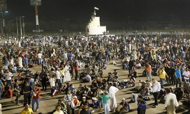 اجتماع طارىء للرئاسات العراقية الثلاث بعد اقتحام البرلمان